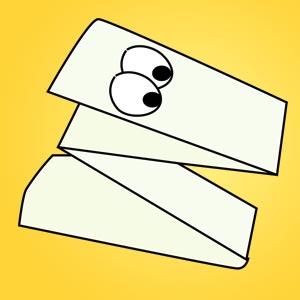 Handfigur aus Papier - kostenlose Bastelideen für Kinder