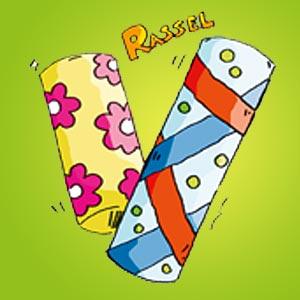Zwei Regenmacher - kostenlose Bastelideen für Kinder