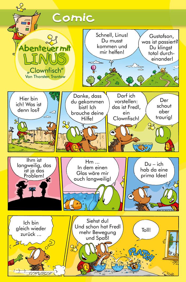 Clownfisch Kindermagazin Mit Kostenlosen Rätseln Spielen