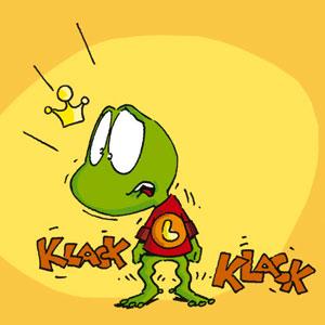 Linus mit schlotternden Knien - Linus-Comic