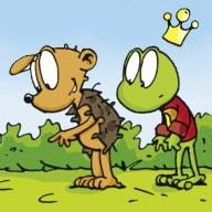 Hufspuren - Linus-Comic