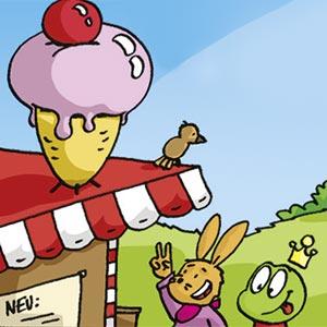 Eis - Linus-Comic