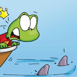 Linus im Boot - Linus-Comic