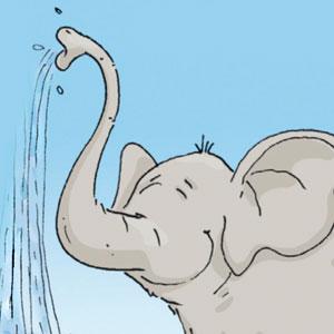 Elefant - Linus-Comic