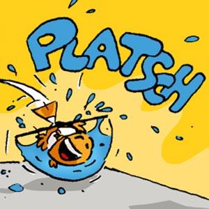 Clownfisch im Glas - Linus-Comic