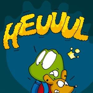 Linus und Herr Hermann im dunklen Wald - Linus-Comic
