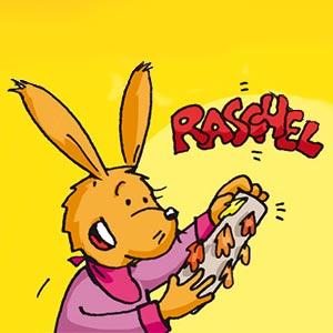 Taffi mit einem Regenmacher - Linus-Comic