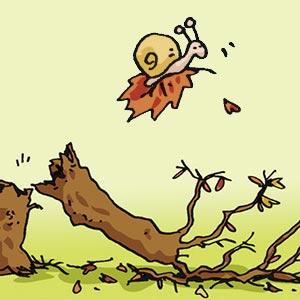 Herbst - Linus-Comic