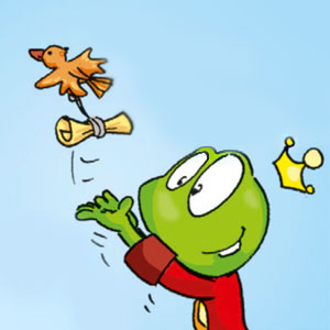 Linus lässt einen Vogel fliegen - Linus-Comic