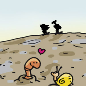 Wattwanderung - Linus-Comic