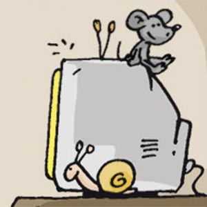 Fernseher - Linus-Comic