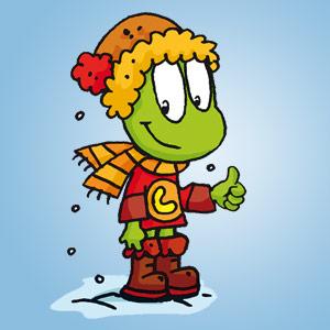 Linus im Schnee - leichter Lesetext - Text für Erstleser