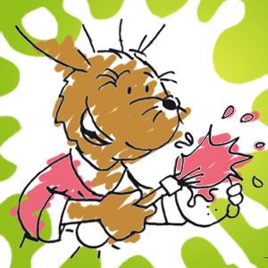 Taffi malt - kostenlose Ausmalbilder für Kinder