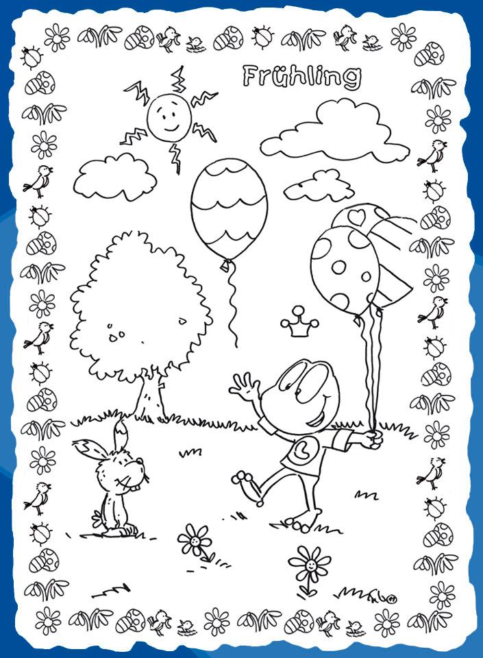 linus feiert den frühling  kindermagazin mit kostenlosen