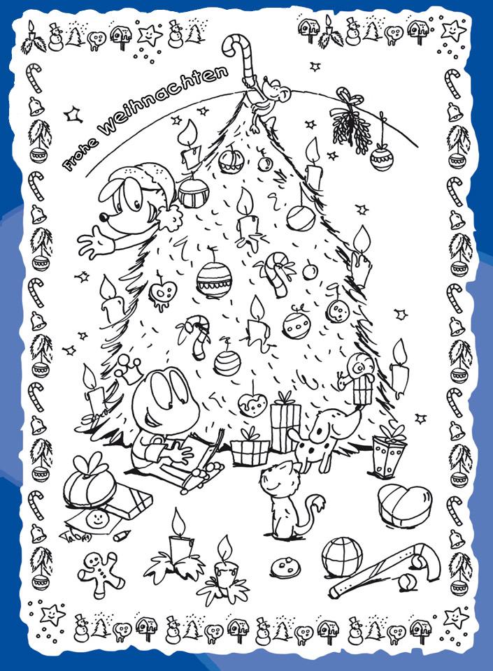 Frohe Weihnachten Kindermagazin Mit Kostenlosen Rätseln Spielen