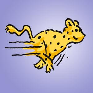 Leopard - Rätsel für Kinder - Bildpaare