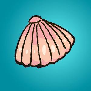 Muschel - Rätsel für Kinder - Finde den Unterschied