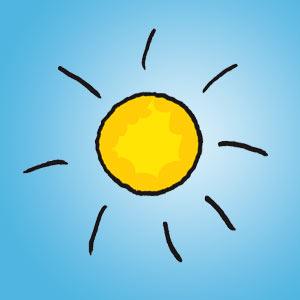 Sonne - Rätsel für Kinder - Buchstabensalat