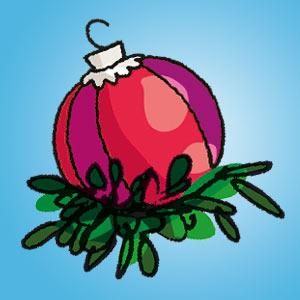 Weihnachtskugel - kostenlose Rätsel für Kinder