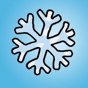 Eiskristall - Rätsel für Kinder - Buchstabensalat