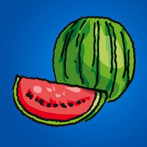 Melone - Rätsel für Kinder - Kreuzworträtsel