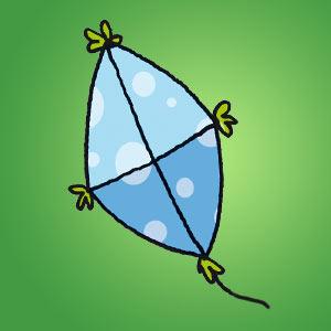 Drachen - Rätsel für Kinder - Fadenrätsel