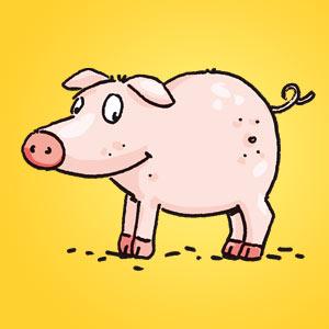Schweinchen - Rätsel für Kinder - Rebus
