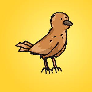 Vogel- Rätsel für Kinder - Rebus