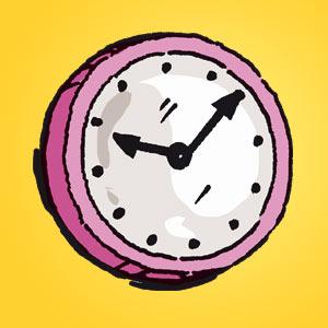 Uhr - Rätsel für Kinder - Rebus