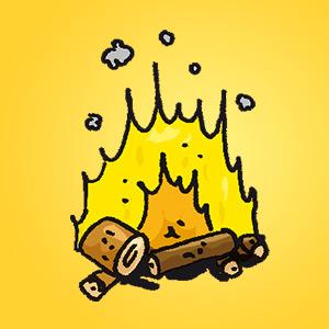 Feuer - Rätsel für Kinder - Rebus