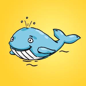 Wal - Rätsel für Kinder - Rebus