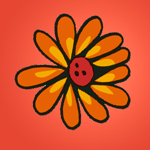 Blume - Rätsel für Kinder - Sudoku