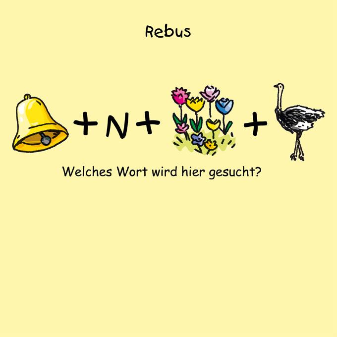 Rebus 1-12 - Blumen   Kindermagazin mit kostenlosen Rätseln, Spielen ...
