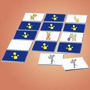 Interaktives Minispiel für Kinder - Memospiel Linusfreunde