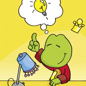 Linus hat eine Idee - Comic-Strip - kostenlos