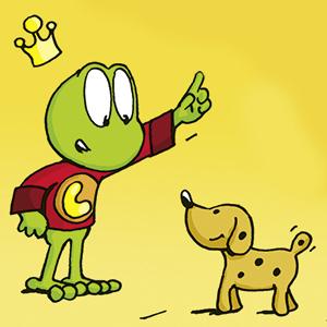 Linus mit Herr Hermann - Comic-Strip - kostenlos