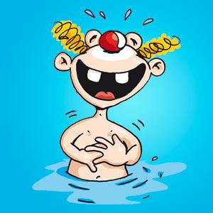 Clown im Wasser - Witze - kostenlos
