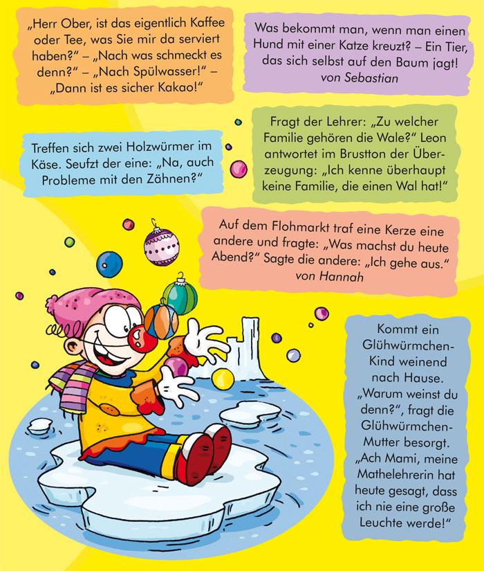 Witze 4/12 | Kindermagazin mit kostenlosen Rätseln