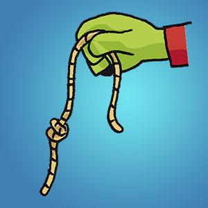 Seil mit Knoten - kostenloser Zaubertrick für Kinder