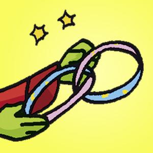 Papierstreifen - kostenloser Zaubertrick für Kinder