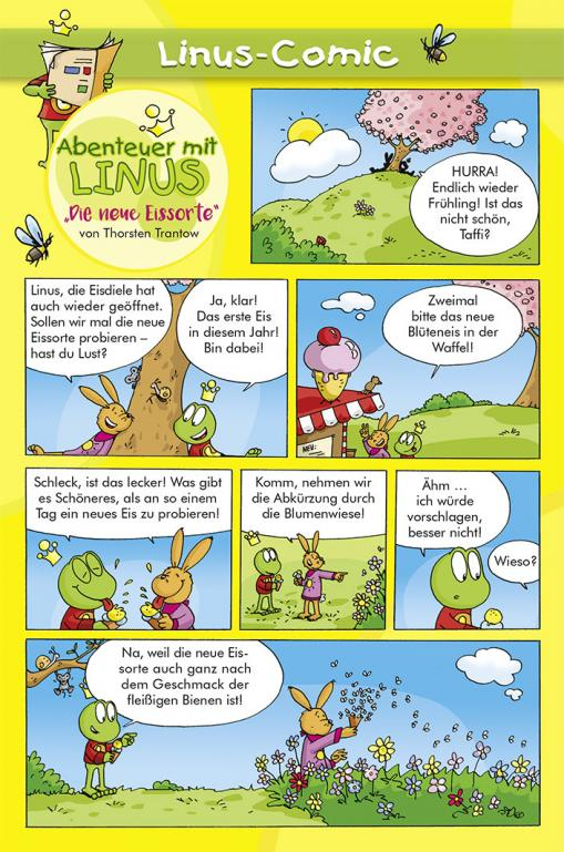 Die neue Eissorte - Linus-Comic