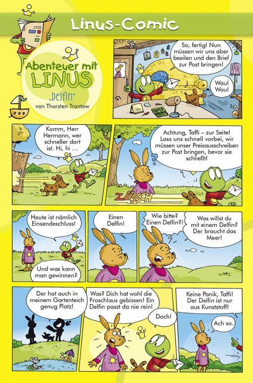 Delfin - Linus-Comic