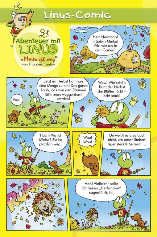 Minka ist weg - Linus-Comic