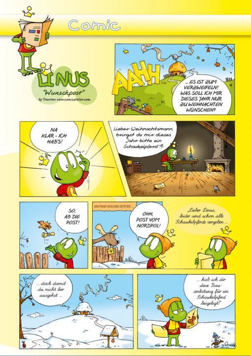 Wunschpost - Kostenloser Comic für Kinder