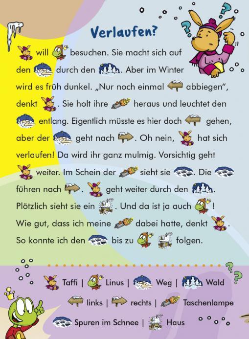 Verlaufen? - kostenloser Lesespaß für Kinder