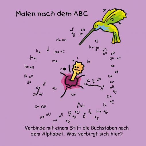 Malen nach dem ABC - kostenloses Kinderrätsel