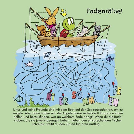 Fadenrätsel - kostenloses Rätsel für Kinder