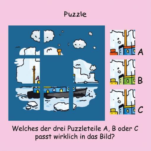 Puzzle - kostenlose Rätsel für Kinder