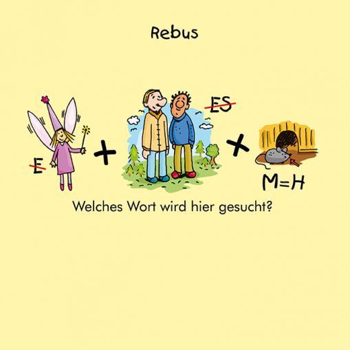 Rebus für Kinder - kostenloses Rätsel