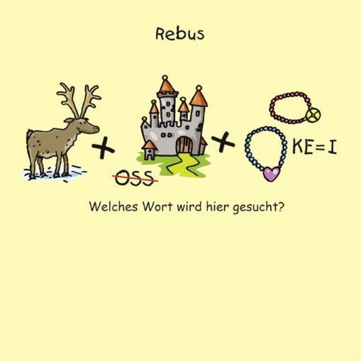 Rebus - kostenlose Rätsel für Kinder
